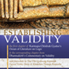 Establishing Validity